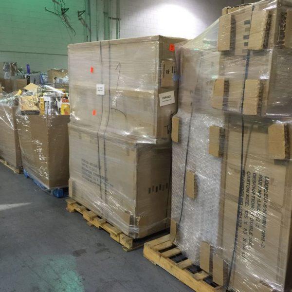 Return Truckload Amazon – Canada – Clean Goods – Mixed